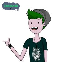 Linebeck in Adventure Time style by Linebeckart