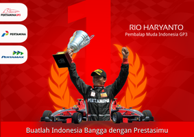 Rio Haryanto A Talented Racer by bluedee
