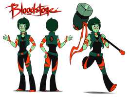 SU: Bloodstone Gemsona by TheCau