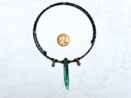 Tsunade choker necklace side 2 by wombat1138