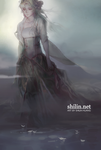 Book 5 inside cover - Patreon piece by shilin