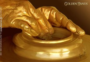 GOLDEN HANDS by hasansgrafix