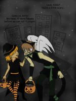 Trick or Treat by FlirtingWithInsanity