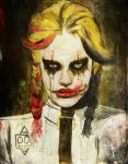 Arkham Inmate 008: Harley Quinn by ZanEXE