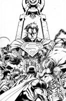 Injustice Gods Among Us #1 by Raapack