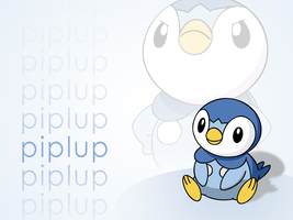 Piplup Vector Wallpaper by TheIronForce