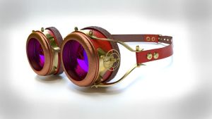 Steampunk Glasses by cctrevis