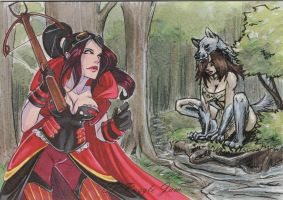 Red Riding Hood by AmberStoneArt