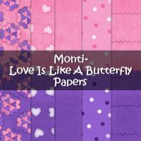 Monti-ButterflyLove--Papers by justmonti