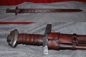 Viking sword scabbard by Nimpsu