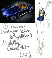 1967 (Midnight Blue + Yellow) AC Shelby Cobra 427 by GL-Gloria
