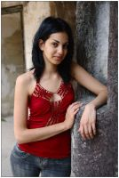 Emily - red top 1 by wildplaces