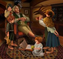 The bad nanny (hobbits) by steamey