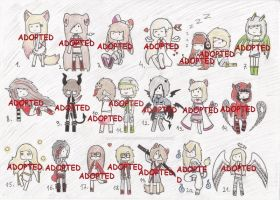 BIG ADOPT BATCH (CLOSED) by Adopt-From-Frog