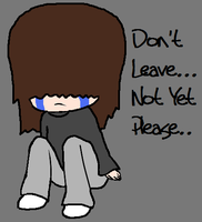 """Don't Leave...Not Yet....Please"" by Ayleia-The-Kitty"