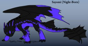 Sayomi -- Night Fury OC by espioluvver