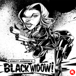 Scarlett Johansson as Natasha as Black Widow by RussCook