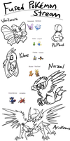 Fused Pokemon Stream by DragonwolfRooke