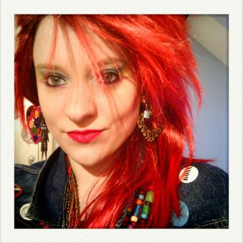 Fake Cyndi Lauper by nelphaba
