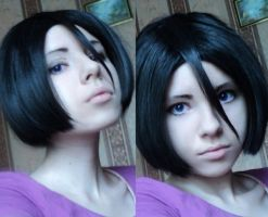 Rukia new hairstyle test by OrihimeSchiffer