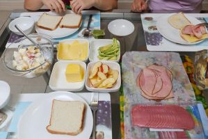 Sandwich for lunch by patchow