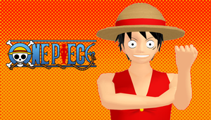 Monkey D. Luffy(Updated version) by Link-Pikachu