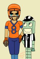 The Female Football Player by sailorlovesong