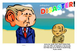 greetings from disaster by samta