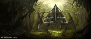 The Jungle Book - Bandar-Log Ruins by freakyfir