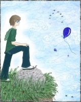 Blue Balloon-April 13 2006 by thewavertree