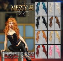 Messy HAIR #1 STOCK by Trisste-stocks
