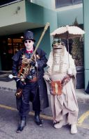 Steampunk World Fair #4- Colleagues by Guardian-of-Legends