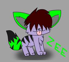 Contest Price.:ZEE is a creepy chibi:. by MillyTheTigerKitten