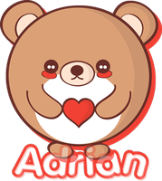 Lovable Bear for Adrian by QTKiwi