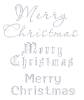 Merry Christmas - English - Silver by Hermit-stock
