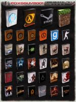 :case: GameIcon Pack 2 by foxgguy2001