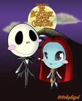 ~This Is HALLOWEEN~ Jack and Sally by pokediged