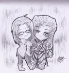 [C] Balder and Emily Chibi by TheAwesomeAki-kun
