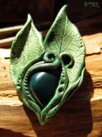 Earth Magick brooch by SuvetarsWell
