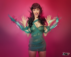 Katy Perry is Only On PDR by Crazed-Artist