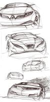 Coupes-derivative sketches by daviddaylee