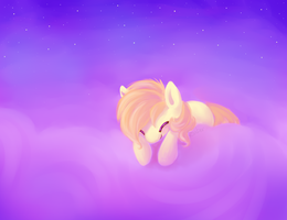Clouds Are Like Cotton Candy by Saber-Panda