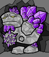 Rock Golem by Cpt-ExtremeKiwi