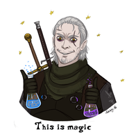 The Witcher: This is magic by Adelaiy