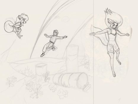 Work in progress - Wf page 65 Sketched by rodrev