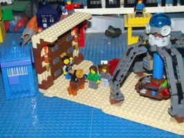 LEGO Doctor Who - Eighth Doctor's TARDIS Playset by Andrewnuva199