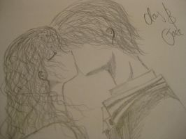 Clary and Jace by EllieJelly666