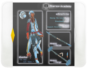 Pharos Academy: Seung Ha-neul (UPDATED)