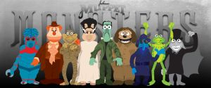 Muppet Monsters Group S2 by Gr8Gonzo