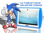 Sonic SEGA tablet advertising by Starshot-seeker